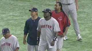 Bos@oak: Red Sox Win '08 Opener In Japan