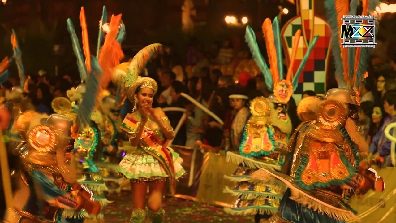 Carnaval Andino Con La Fuerza Del Sol Arica - Chile
