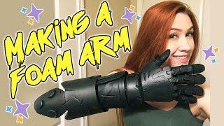 Making a Foam Arm [Junkrat from Overwatch]