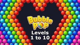 Bubble Pop! Puzzle Game Legend Levels 1 to 10   Bubble Shooter screenshot 3