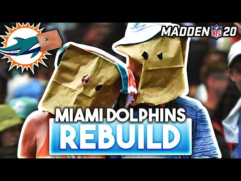 Can I Rebuild The DOLPHINS & WIN The Super Bowl? Madden 20
