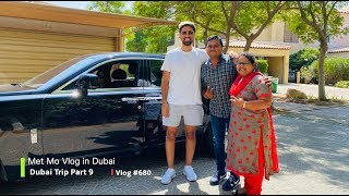 Chasing Mo Vlog's Rolls Royce !! How we met Mo Vlogs in Dubai?