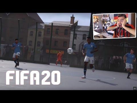 REACCION TRAILER FIFA 20!! VUELVE FIFA STREET!! VOLTA