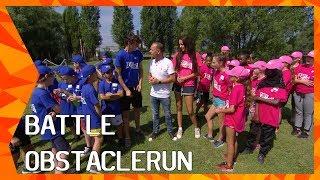 The Battle Obstaclerun met Sophie Milzink en Niek Roozen | ZAPPSPORT