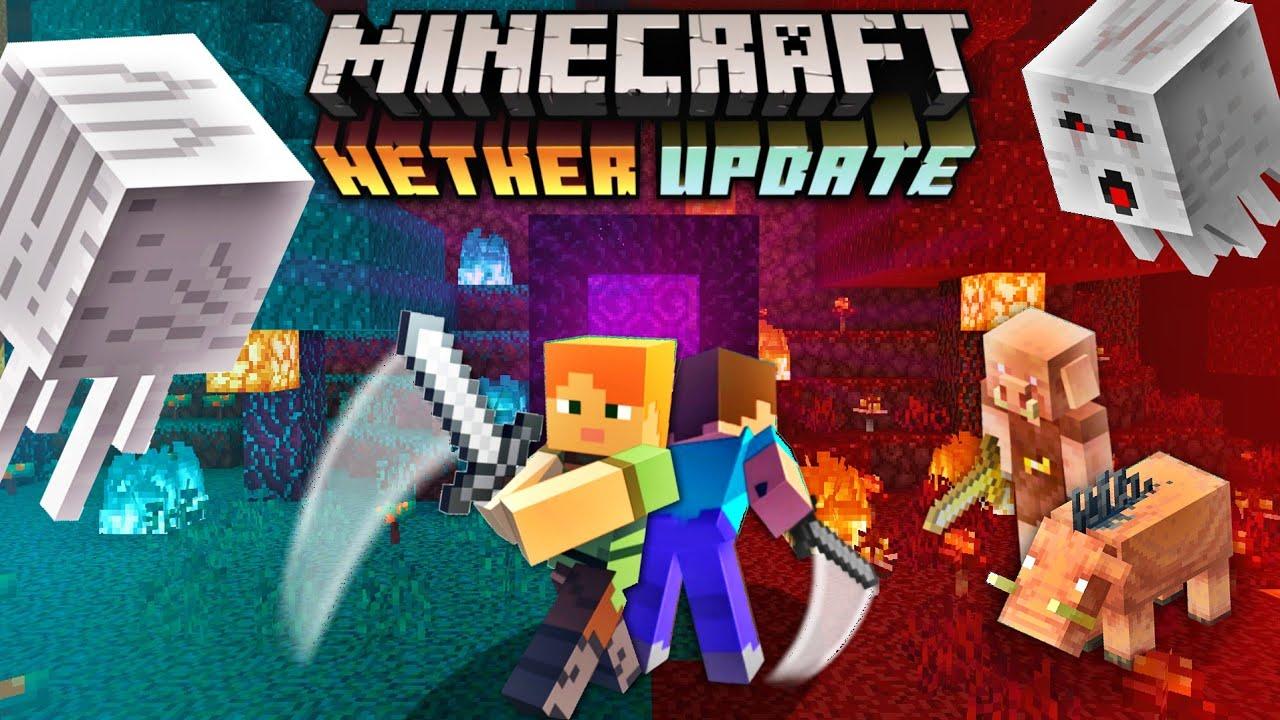 Minecraft PE 11.111 Trailer - Minecraft Pocket Edition Nether Update Trailer