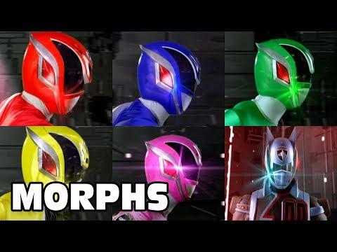 Power Rangers S.P.D. - All Ranger Morphs | Episodes 1-38 | It's Morphin Time | Superheroes