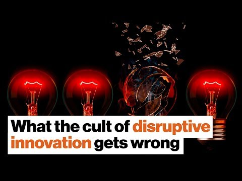 The cult of disruptive innovation: Where America went wrong | Jill Lepore
