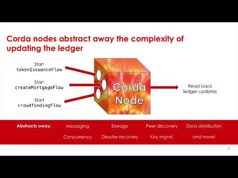 Corda Bootcamp 02 - What Is Corda?
