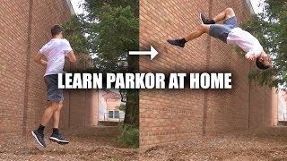 Learn Parkour Wallflip Easy - By Turning a 360 Into A 2-Step Wall Flip