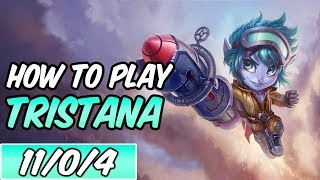 HOW TO PLAY TRISTANA | Build & Runes | Diamond Commentary | Rocket Girl Tristana | League of Legends
