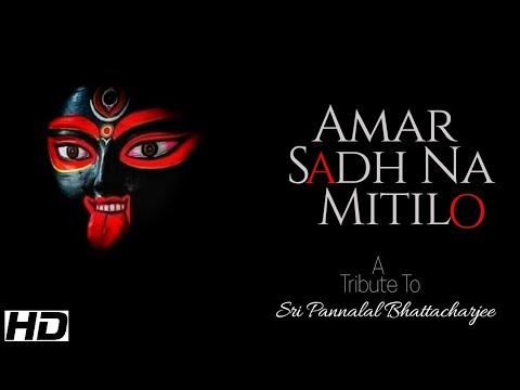 AMAR SAADH NA MITILO- A Tribute to Sri Pannalal Bhattacharjee || Subhajit Chattopadhyay||