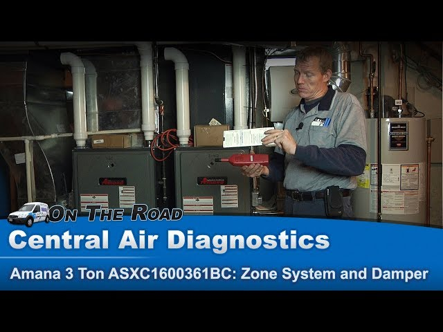 HVAC Zone System and Damper overview for Heating & Cooling