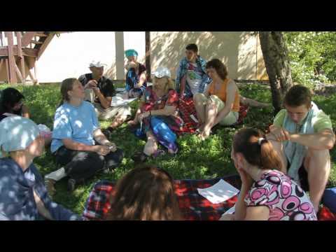 Rīgas Lutera Draudzes 2010.gada vasaras nometne - Diskusijas (1.daļa)