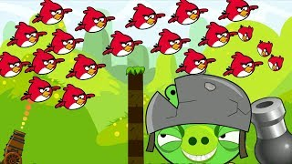 Angry Birds Collection Birds 2 - MAD CANNON SHOOT ALL 100 BIRDS TO ...