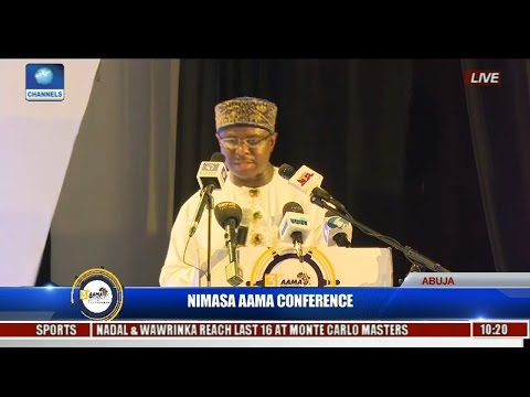 NIMASA AAMA Conference: Dakuku Assures Better Maritime Development In Welcome Address