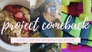 Detox After A Break// Get Healthy + Fit With Me!