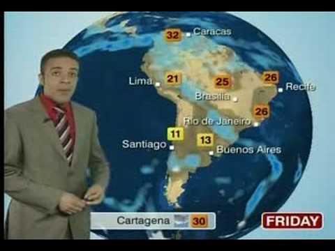 BBC World Weather La Paz Hotter Jul 31th 2008
