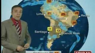 BBC World weather La Paz hotter Jul 31th 2008