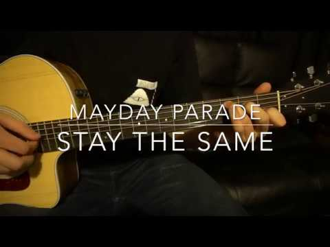 Mayday Parade // Stay the Same // Easy Guitar Lesson (W/Tabs!)