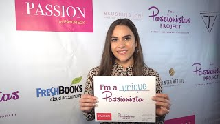 The Passionistas Project at Passion to Paycheck with Jenn LaMonaca