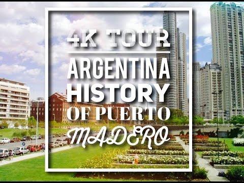 [ 4K ] DJI Phantom 4  Argentina Puerto Madero Tour UHD