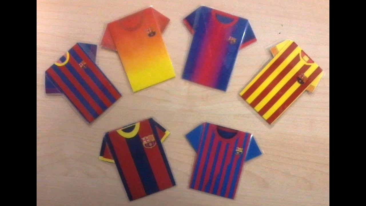 Equipacin de futbol de papel youtube equipacin de futbol de papel altavistaventures Image collections
