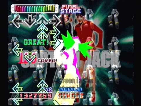 CAPTIAN JACK (GRANDALE MIX) / Single / SSR - Dance Dance Revolution 3rd MIX, Playstation