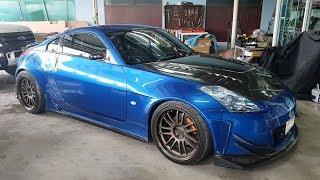 Nissan 350Z ชุดแต่ง Garage mak จูนเครื่องเสียงระบบไตรแอมป์ จากร้าน SQ Plus ระยอง : รถซิ่งไทยแลนด์