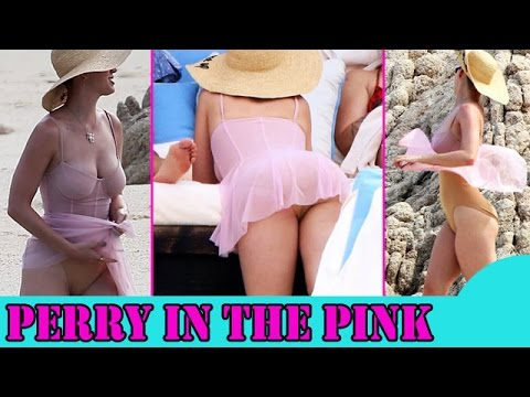 Perry in Pink|Katy Perry hitting a Mexican beach BUCK NAKED