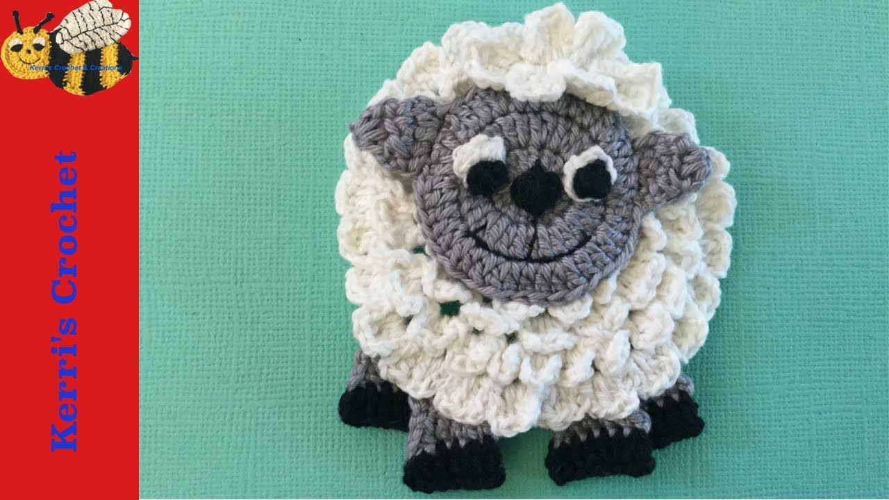 Crochet Sheep Tutorial Youtube