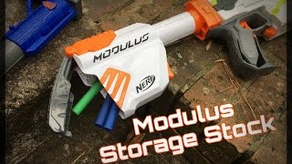 Honest Review: Nerf Modulus Storage Stock