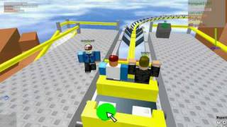 Cliffhanger Rollercoaster-Roblox (NOW IN HD)