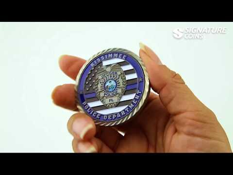 Police Coins   Law Enforcement Challenge Coins - Signature Coins