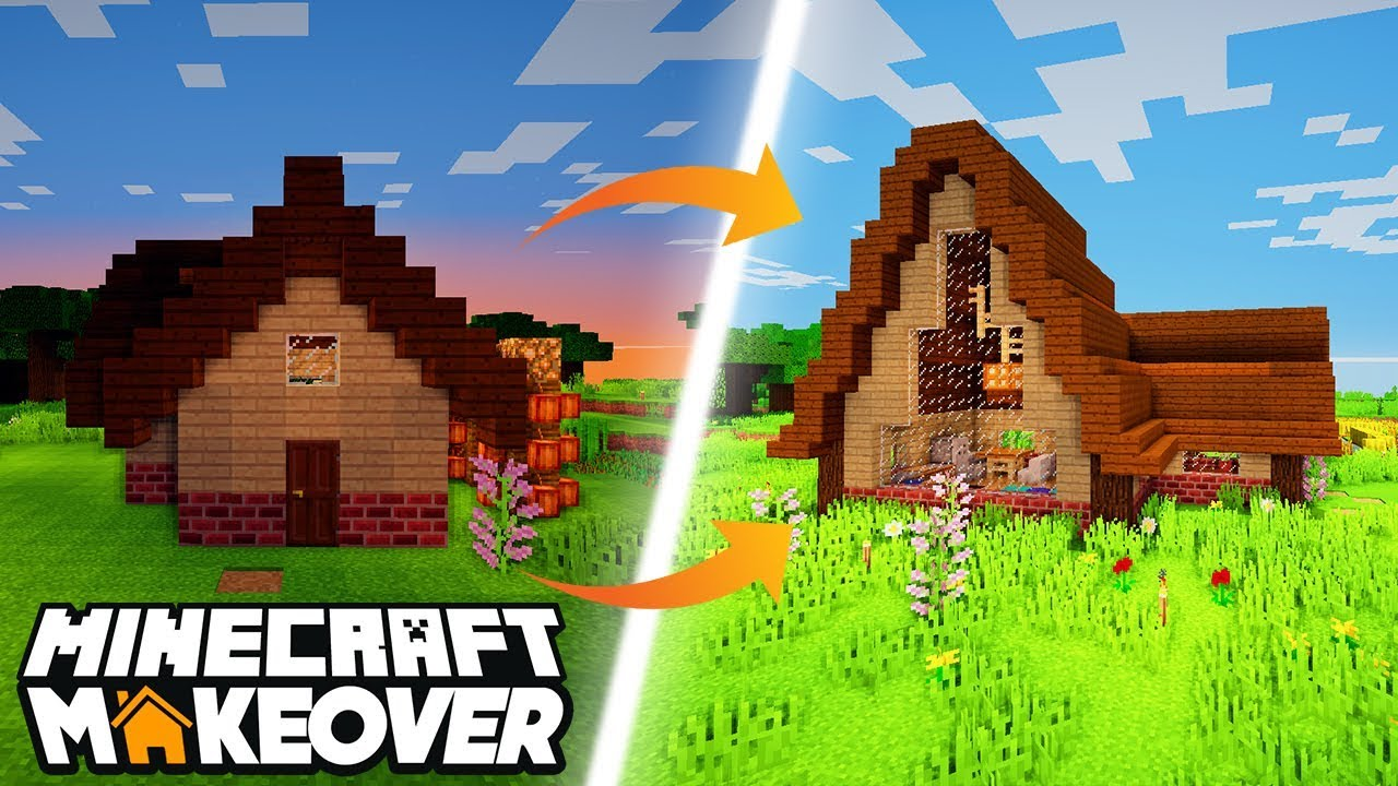 Cute Cottage Minecraft Makeover