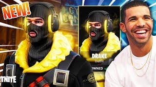 DRAKE'S GETTING HIS OWN SKIN IN FORTNITE! - (Fortnite Battle Royale)