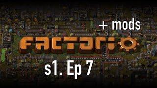 Factorio +моды - Серия №7 Приключения Электроника Серия 2