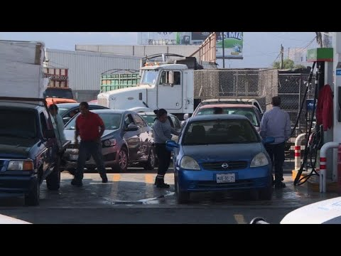 'Don't panic,' Mexico president says as fuel shortages spiral