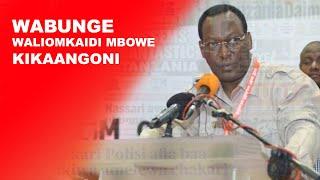 Wabunge waliomkaidi Mbowe kikaangoni,vikao vya bunge vyapigwa panga | Dar24 Media