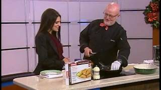 Chef Phil Joy Cooking Perogie Casserole For Recipes Go To Www.enjoycookingwithphil.com