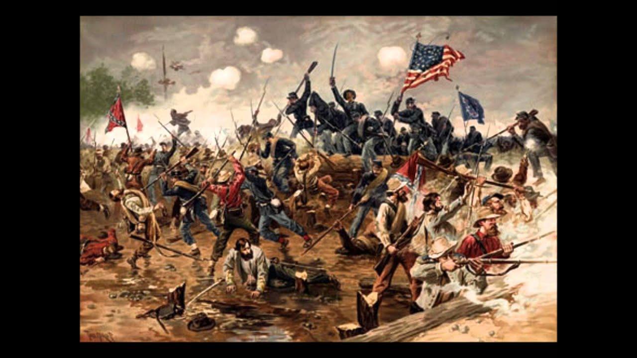 American Civil War - Rebel in the Woods - YouTube