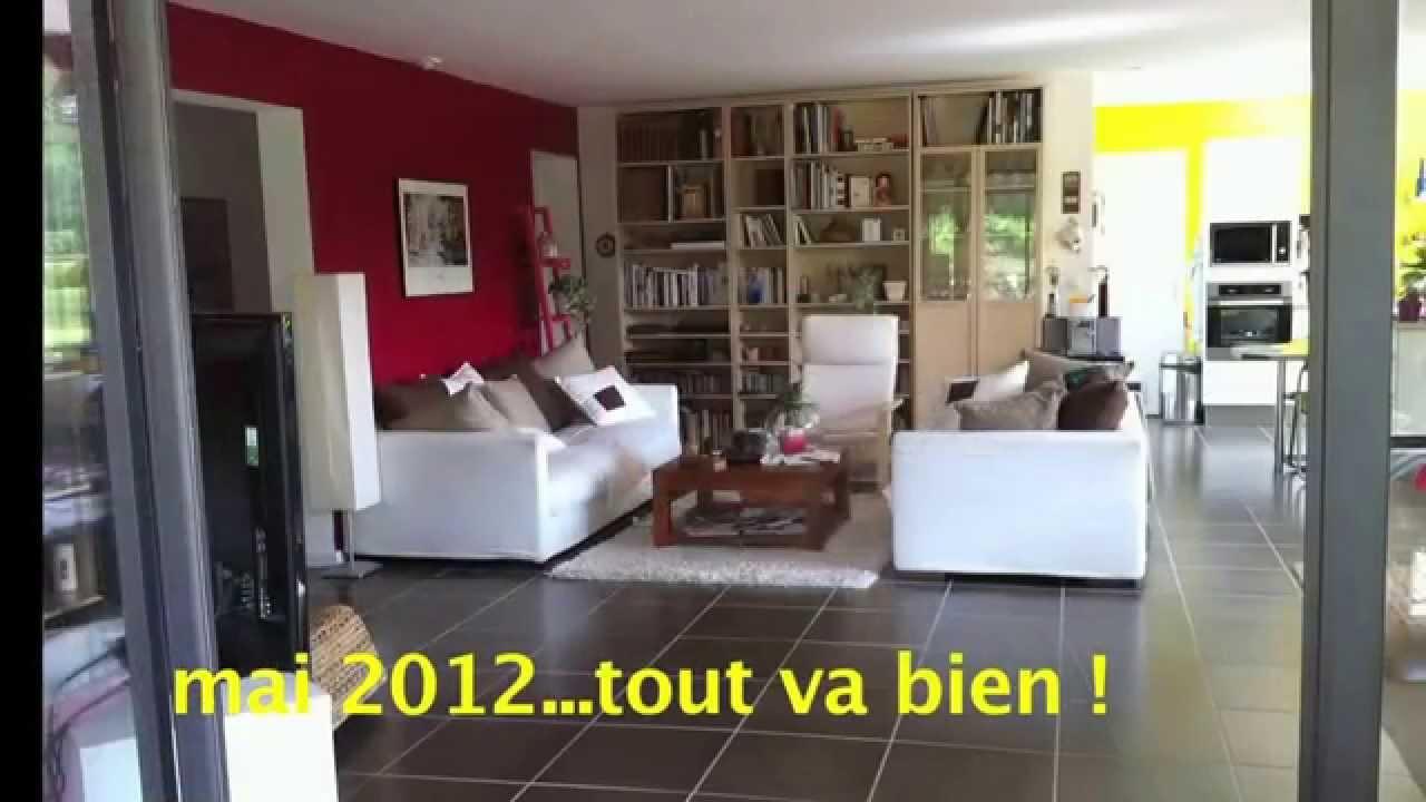 Notre maison neuve enti rement d truite youtube for Prix maison neuve 2 chambres