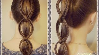 How To Make A Fishtail Chain Ponytail