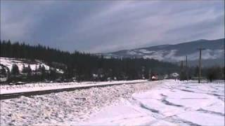 Amtrak California Zephyr in Truckee, CA