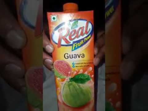 Fungal in real fruit juice
