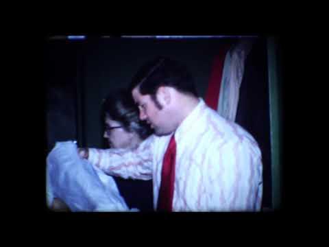 1968 1973  Jones Family Christmas Starkville, Mississippi 8mm home movie