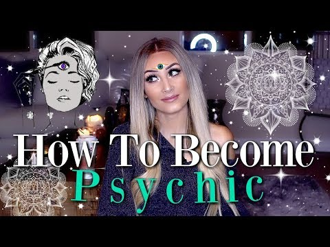 How To Become PSYCHIC 🔮🌙/ Develop Your Abilities ✨ (Things You Might Not Know)