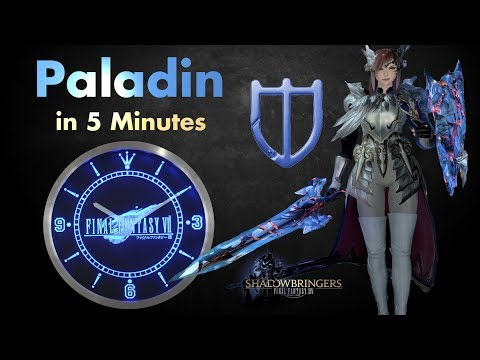 Paladin/PLD In 5 Minutes ( Final Fantasy XIV - Job Overview)