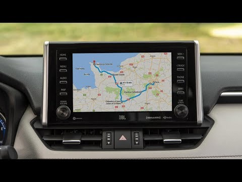 Toyota RAV4 2019 EU How To Use Waze, Maps Or Other App On Toyota Touch 2 With Android MirrorLink