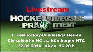 1. Feldhockey-Bundesliga Herren DHC vs NHTC 22.09.2018 Livestream