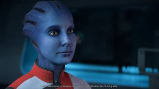 Mass Effect Andromeda Lexi romance with male Ryder part 1